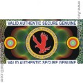 Authentic Eagle ID Card Hologram Overlay