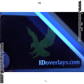 Clear ID Overlay ID Card Protective Overlay with UV Eagle